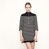 Maje Sailor-style knit dress