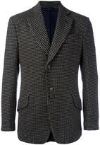 Vivienne Westwood Man patterned buttoned blazer