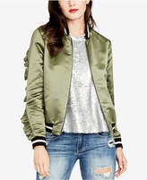 Rachel Roy Ruffled Bomber Jacket, Created for Macy's