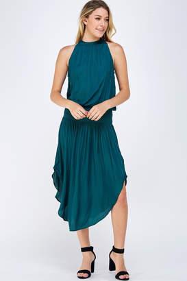 Do & Be Green Smocked Dress