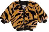 Kenzo Faux-Fur Tiger Jacket, Size 2-3