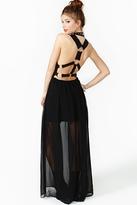 Nasty Gal Harness Maxi Dress