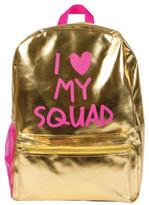 Fashion Angels Gold Metallic I Love My Squad Backpack