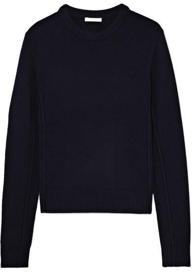 Chloé Iconic Cashmere Sweater - Navy