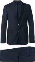Tagliatore flap pockets two-piece suit - men - Cupro/Wool - 46