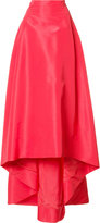 Carolina Herrera faille skirt - women - Silk - 4