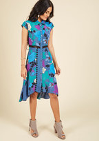 Expertly Eclectic Shirt Dress in L