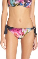 Ted Baker Women's Focus Bouquet Side Tie Bikini Bottoms