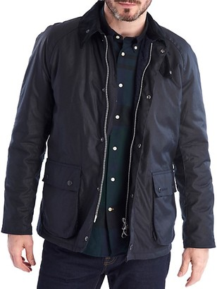 Barbour Strathroy Waxed Cotton Jacket