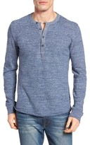 Grayers Men's 'Todd' Long Sleeve Slub Henley