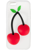 Natasha Zinko cherry iPhone 6 case - women - Silicone - One Size