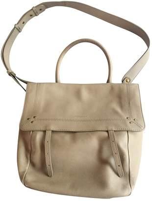 Jerome Dreyfuss Beige Leather Handbags