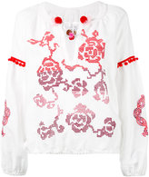 Forte Forte floral embroidery blouse