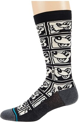 Stance 1985 Haring (Black) Crew Cut Socks Shoes