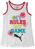 Puma Girls' Graphic Tank.