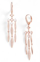 Nadri Women's Cardamom Chandelier Earrings