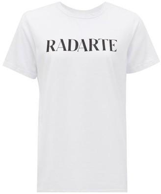 Rodarte Radarte-print Jersey T-shirt - White