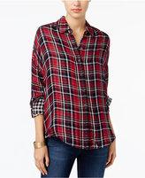 William Rast Aster Plaid Shirt