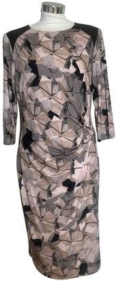 Basler Pink Cotton - elasthane Dress for Women
