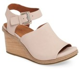 Gentle Souls Women's Gerry Wedge Sandal