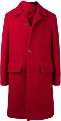 Raf Simons Single-Breasted Coat