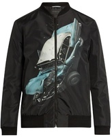 Christopher Kane Car Crash Print Shell Jacket