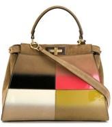 Fendi Women's Brown Leather Handbag.
