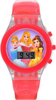 Character Girls Pink Strap Watch-Pn3017jc
