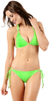 Voda Swim Neon-Green Double String Bottom