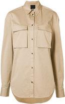 Josh Goot Utility shirt - women - Cotton/Spandex/Elastane - XS