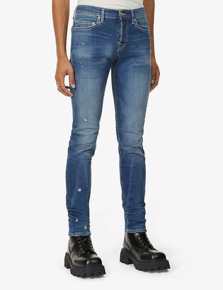 True Religion Rocco distressed slim-fit jeans