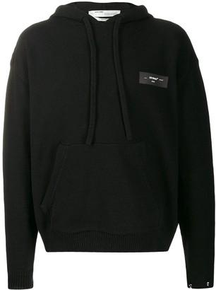 Off-White Arrows logo hoodie