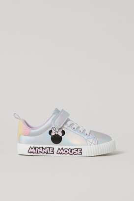 H&M Shimmering printed trainers