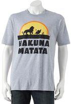 "Disney Men's The Lion King ""Hakuna Matata"" Tee"
