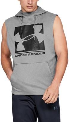 Under Armour Men's Armour Fleece Graphic Sleeveless Hoodie