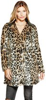 GUESS Nevra Faux-Fur Coat