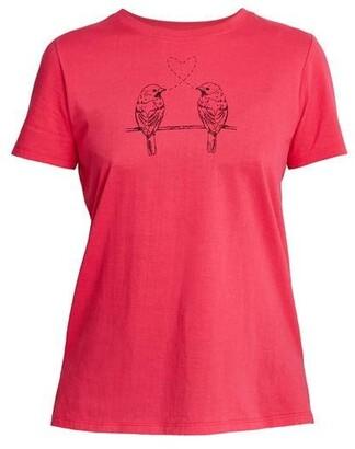 People Tree Bird Print T-Shirt