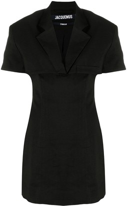 Jacquemus Gardian layered jacket dress