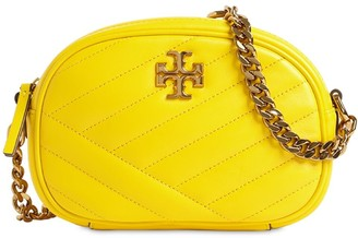 Tory Burch Kira Chevron Quilted Leather Camera Bag