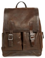 Frye Men's Oliver Leather Backpack - Brown