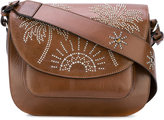 Htc Hollywood Trading Company - palm tree studded satchel - women - Leather - One Size