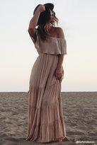 Forever 21 Off-the-Shoulder Maxi Dress