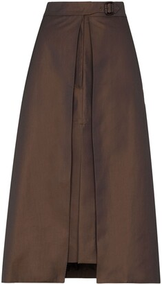 Eftychia Layered Pencil Skirt