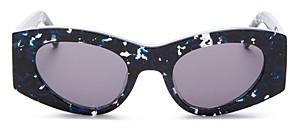 Le Specs Luxe Women's Extempore Cat Eye Sunglasses, 49mm