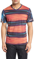 Robert Graham Yalta Classic Fit Print V-Neck T-Shirt