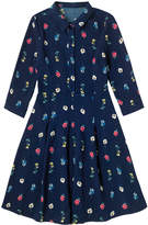 Cath Kidston Lulworth Flowers Crepe Dress