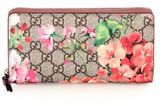 Gucci GG Blooms Zip-Around Wallet