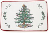Spode Holiday Red Christmas Tree Memory Foam Rug