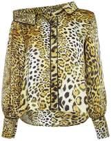 RAAB - Nela Cheetah Drop Shoulder Shirt