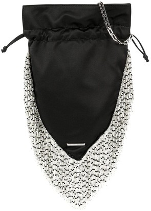 Les Petits Joueurs Beaded Fringes Shoulder Bag